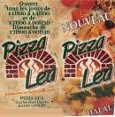 Menu Pizza Lea - carte et menu Pizza Lea  Longwy