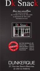 Menu Dk Snack - Carte et menu Dk Snack Dunkerque