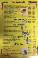 Menu Marmara - Les sandwiches, paninis,...