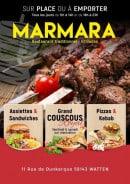 Menu Marmara - Carte et menu marmara watten