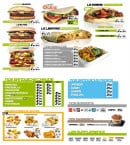 Menu IFood - Kebab, sandwichs, desserts,....