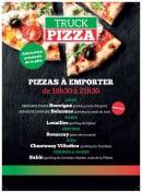 Menu Truck Pizza - carte et menu Truck Pizza Solesmes