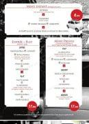 Menu Le Venezia - les menus