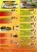 Menu Fast Food Tandoori - Les assiettes et desserts