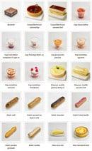 Menu La mie câline - Les pâtisseries
