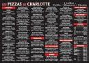 Menu Les Pizzas de Charlotte - Les pizzas, tex-mex, desserts et boissons