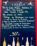 Menu L'après Ski - Le menu à 30€