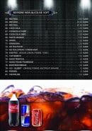 Menu Kopar Night KNK - Les boissons non alcoolisées et softs