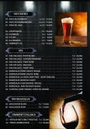 Menu Kopar Night KNK - Les bières et vins