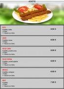 Menu La cantine - Les assiettes