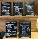 Menu Le Café Potager - Les plats