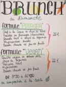 Menu Le Café Potager - Les formules