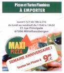 Menu Maxi Pizza - La carte et menu Maxi Pizza Mittelhausbergen