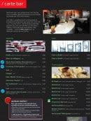 Menu Les Arcades SMLXL - Les apéritifs, eaux et champagnes