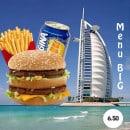 Menu Le 153 - Le menu big à 6,5€
