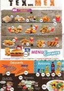 Menu Le 153 - Les tex mex, menu enfant et desserts