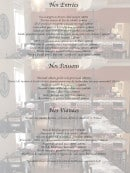Menu Le Cud'Poulot - Les entrées, poissons et viandes