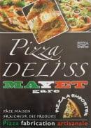 Menu Pizza Deli'ss - Carte et menu Pizza Deli'ss à Mayet