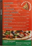 Menu Pizza Deli'ss - Les pizzas