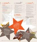 Menu Brasserie des Européens - Les entrées, poissons, moules...