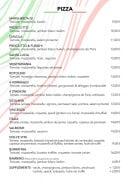 Menu La Dolce vita Annecy - pizza