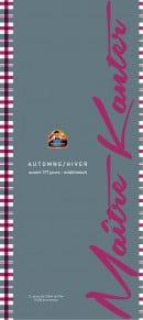 Menu La Taverne de Maitre Kanter - Carte et menu La Taverne de Maitre Kanter Annemasse