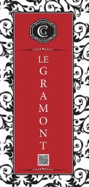 Menu Le gramont - Carte et menu le gramont paris 2