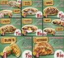 Menu O'Delice L'Original - Les menus sandwiches