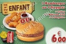Menu O'Delice L'Original - Le menu enfant