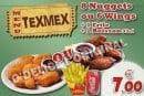 Menu O'Delice L'Original - Le menu tex mex