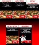 Menu Pizza Pronto - Les Menus