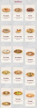 Menu Royal Pizza - Pizzas
