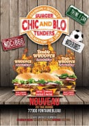 Menu Chic And Blo - carte et menu  Chic And Blo  Fontainebleau