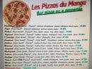 Menu Le Manga - Les pizzas