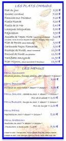 Menu Le Grill d'Oncle Sam - Les plats chauds et menus