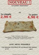 Menu Pizza La Ventura - Les petites chaussettes