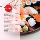 Menu L&B Sushi - Les plateaux