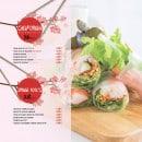 Menu L&B Sushi - Les californias et spring rolls