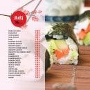 Menu L&B Sushi - Les makis