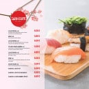 Menu L&B Sushi - Les suggestions du chef