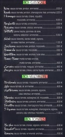 Menu Italia King - Les pizzas