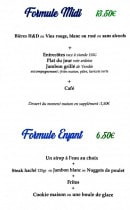 Menu H&D Bar - Formules