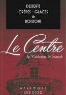Menu Le Centre - carte et menu Le CentreApremont