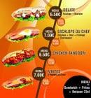 Menu Food street - Sandwiches