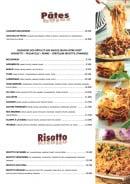Menu Casa Mia - Les pâtes et risotto