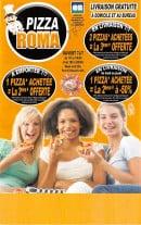 Menu Pizza Roma - Carte et menu Pizza Roma Les Ulis