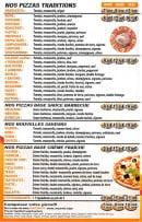 Menu Pizza Roma - Pizzas