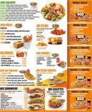 Menu Pizza Roma - Salades, pâtes, burgers....