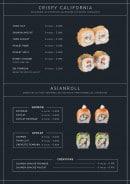 Menu Asian Factory - Les crispy california et asian roll