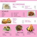 Menu Paradise Sushi - Plats chauds